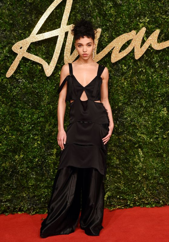 FKA Twigs – British Fashion Awards 2015 in London