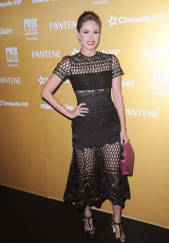Galilea Montijo – Marie Claire Prix de la Mode Awards 2015 at Hotel Hayatt in Mexico City