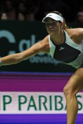 Garbine Muguruza - 2015 WTA Finals in Singapore - Semi-Final