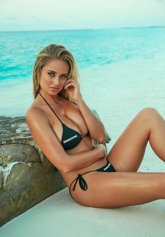 Genevieve Morton - Photoshoot for World Swimsuit 2015