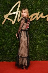 Georgia May Jagger – British Fashion Awards 2015 in London