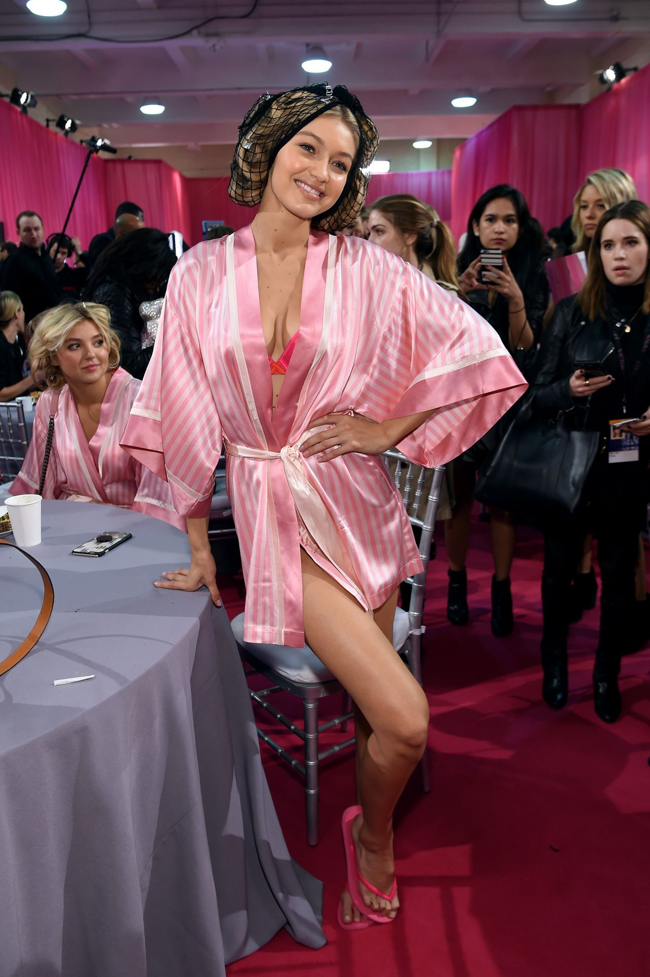 Gigi Hadid 2015 Victoria S Secret Fashion Show In New