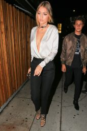 Gigi Hadid at The Nice Guy in West Hollywood, November 2015