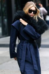 Gigi Hadid Autumn Style - New York City, November 2015