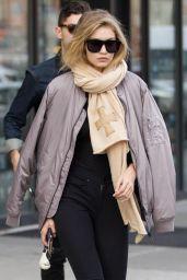 Gigi Hadid Casual Style - NYC, November 2015