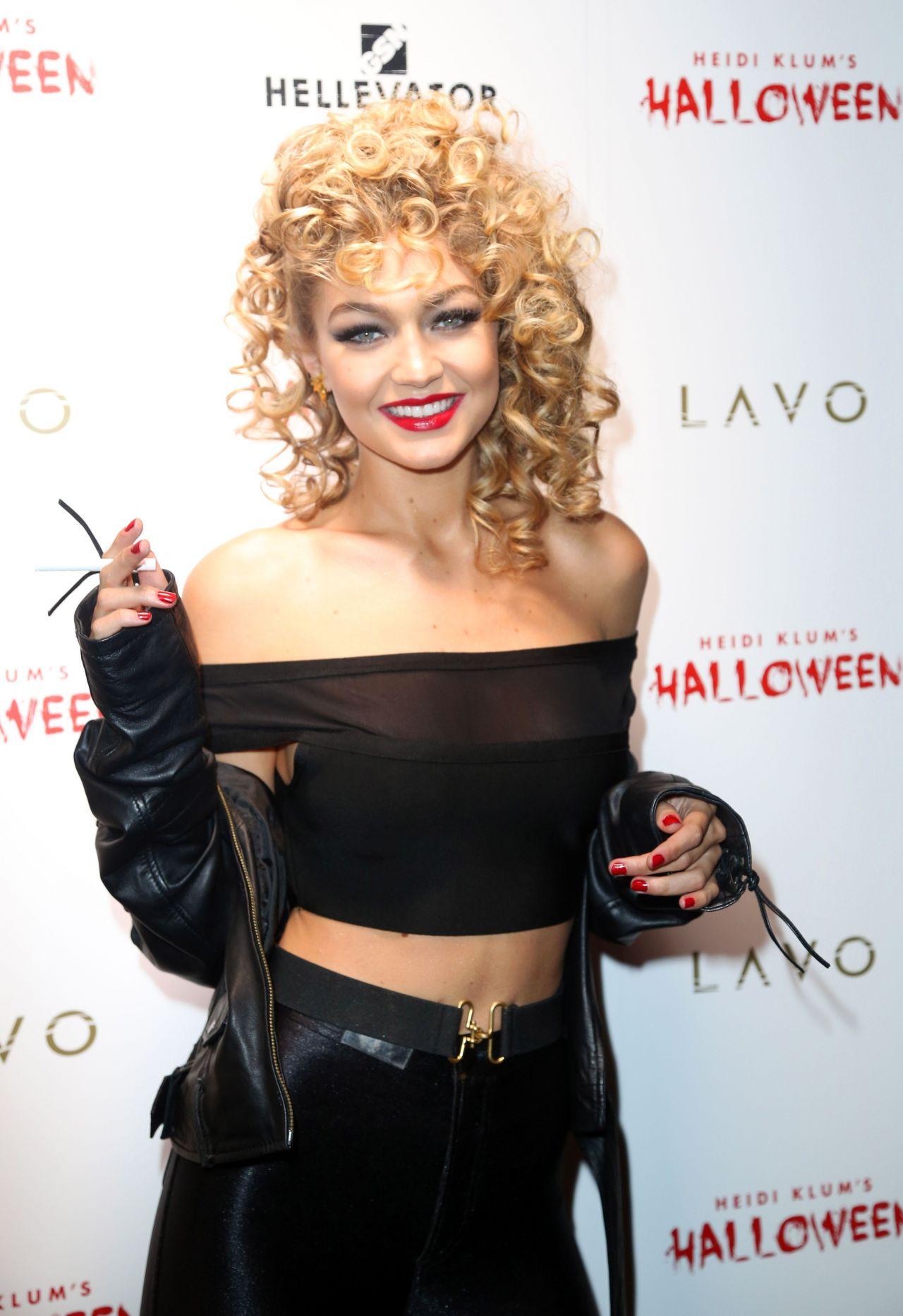 Hadid – Heidi Klum Halloween Party in New York City, October 2015