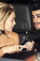 Gigi Hadid Night Out Style - Leaving the Nice Guy in West Hollywood, November 2015