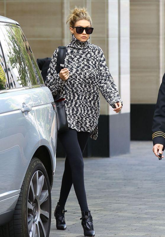 Gigi Hadid - Out in Los Angeles, November 2015