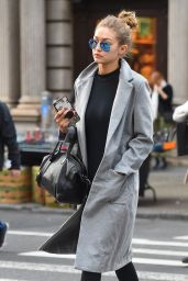 Gigi Hadid - Out in New York City, November 2015