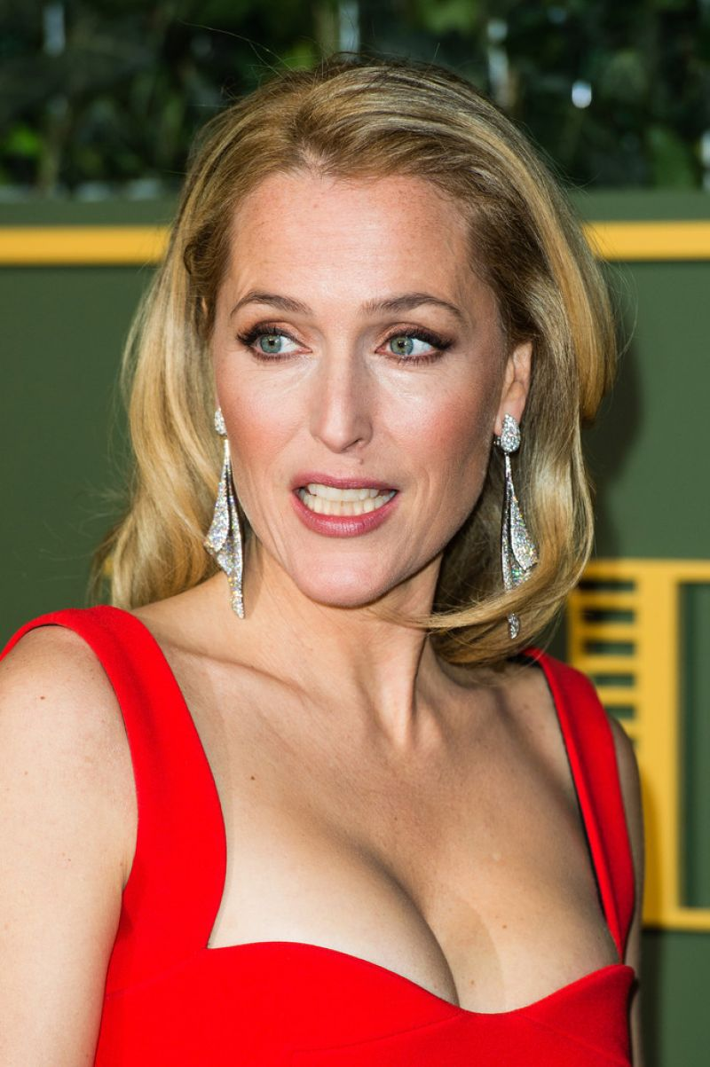 Gillian Anderson Evening Standard Theatre Awards At The