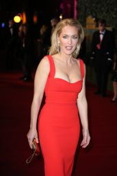 Gillian Anderson – Evening Standard Theatre Awards at The Old Vic Theatre in London, 11/22/2015