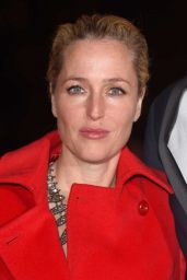 Gillian Anderson - Park Theatre Annual Gala Dinner at Stoke Newington Town Hall, November 2015