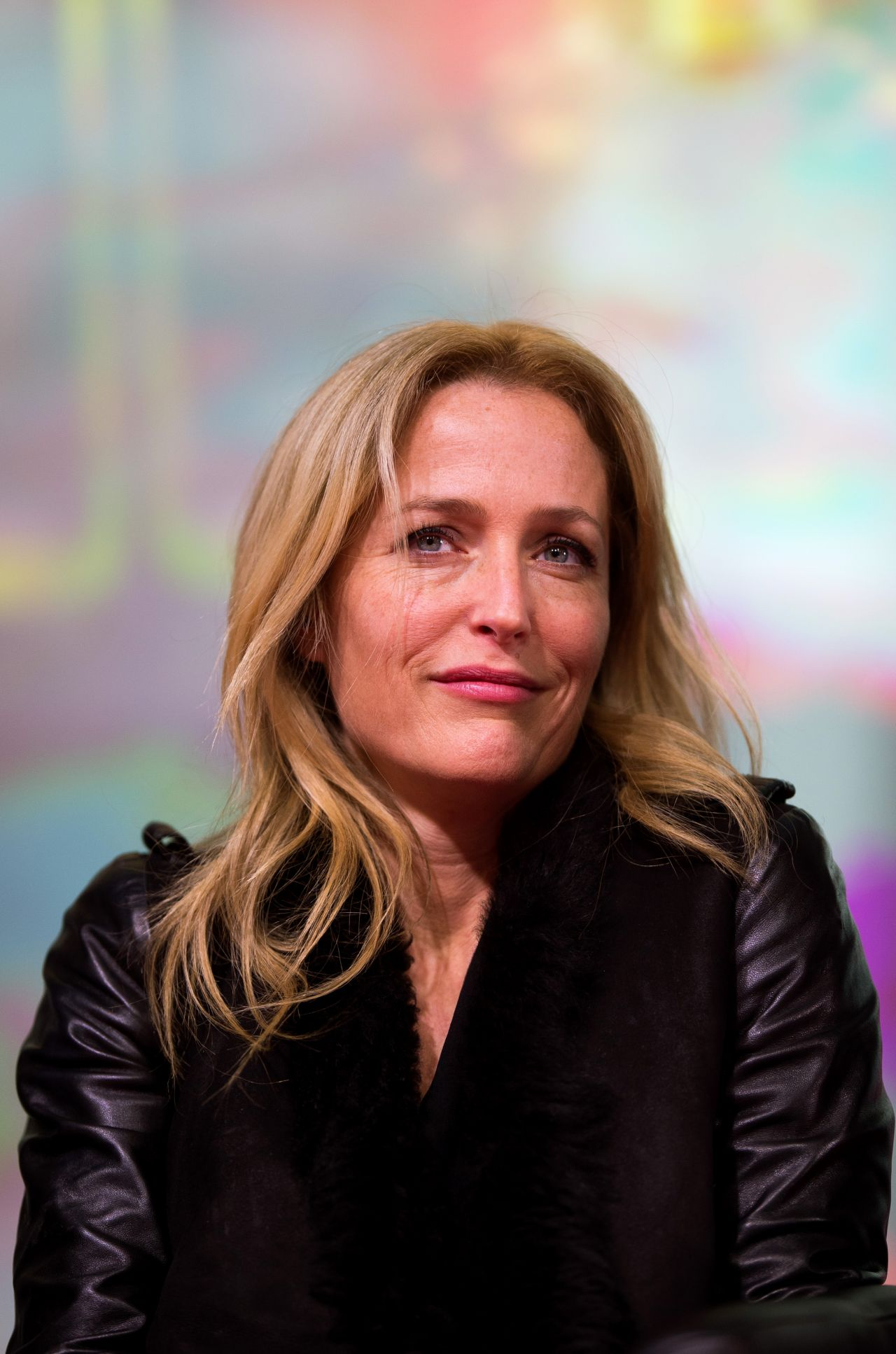 Gillian Anderson The X Files Meet And Greet Promo In