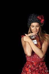 Gisele Bundchen - Photoshoot for Chanel No. 5 Fragrance Christmas 2015