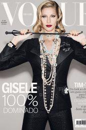Gisele Bundchen - Vogue Magazine Brazil December 2015 Cover and Pics