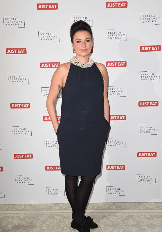 Gizzi Erskine – 2015 British Takeaway Awards in London