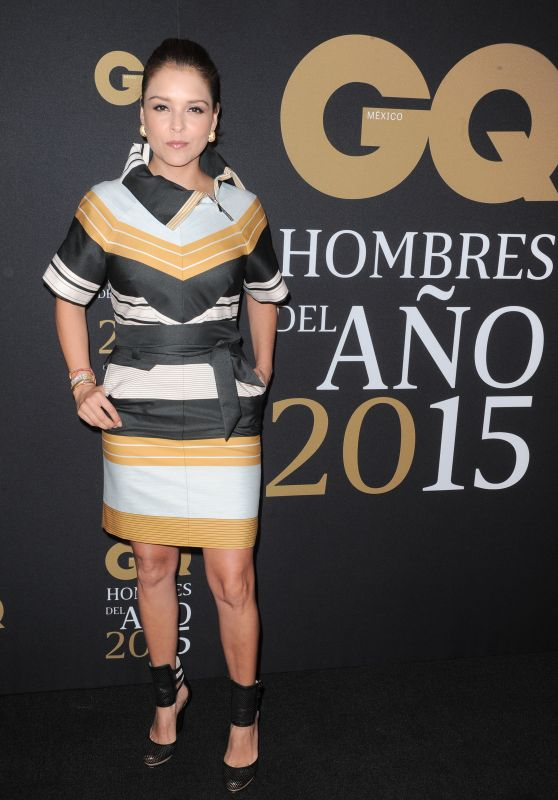 Grettell Valdez – GQ Men of the Year Awards 2015 in Mexico City