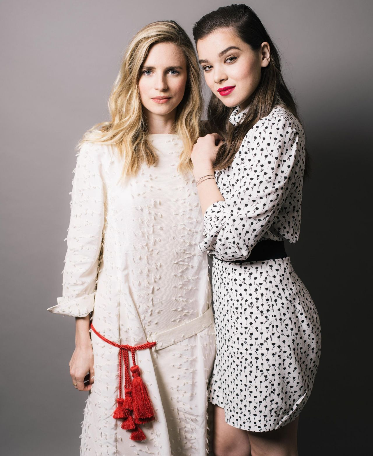 Hailee Steinfeld and Brit Marling -