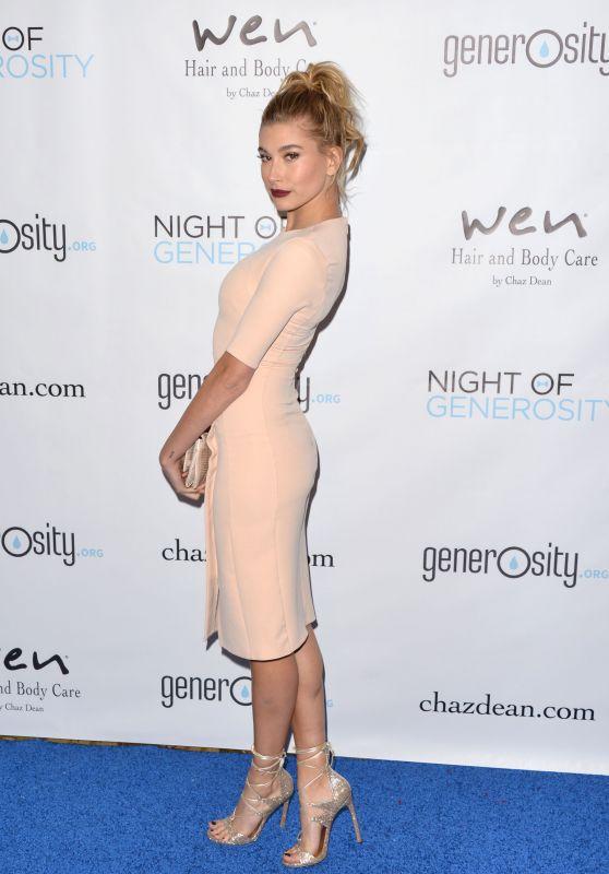 Hailey Baldwin - 2015 Night Of Generosity Gala in Beverly Hills