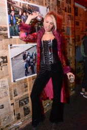 Hailey Clauson - Overthrow New York Presents: The Box Fright Night in New York City, October 2015