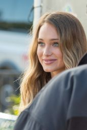 Hannah Davis - at the Set of