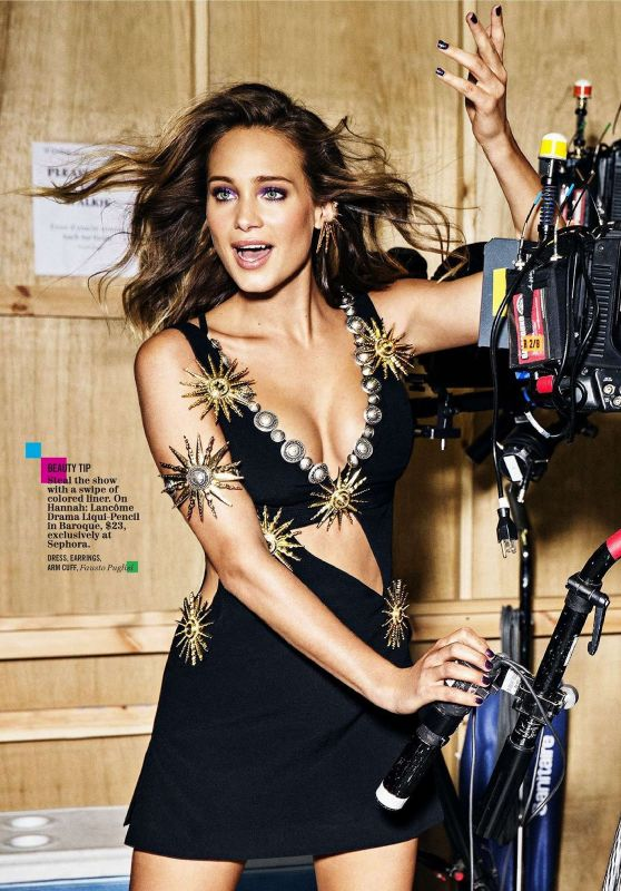 Hannah Davis - Cosmopolitan Magazine December 2015 Issue
