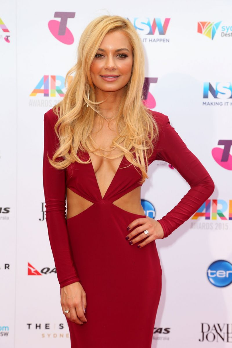 Havana Brown 2015 Aria Awards In Sydney