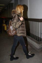 Heidi Klum at LAX Airport, November 2015