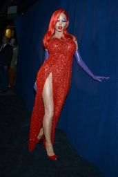 Heidi Klum – Heidi Klum Halloween Party in New York City, October 2015