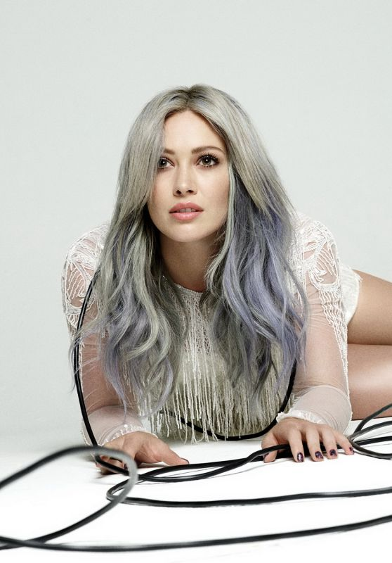 Hilary Duff - 'Breathe In Breathe Out' Album Promoshoot