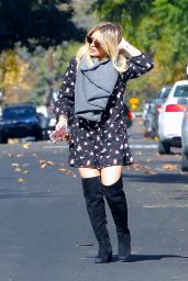Hilary Duff Casual Style - Out in LA, November 2015