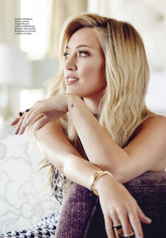 Hilary Duff – Glamour Magazine Mexico November 2015 Issue
