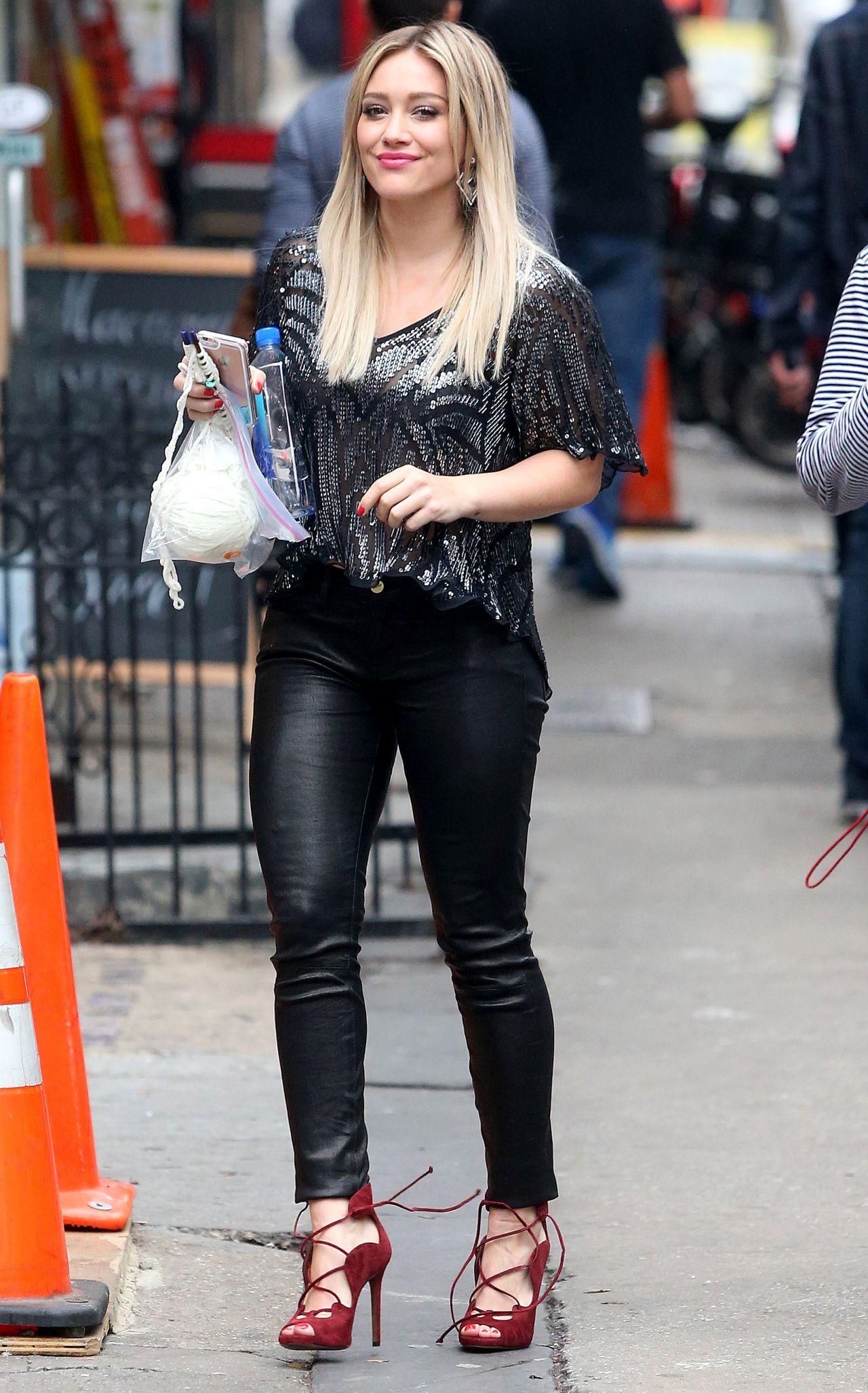 Hilary Duff Younger Set Photos New York City
