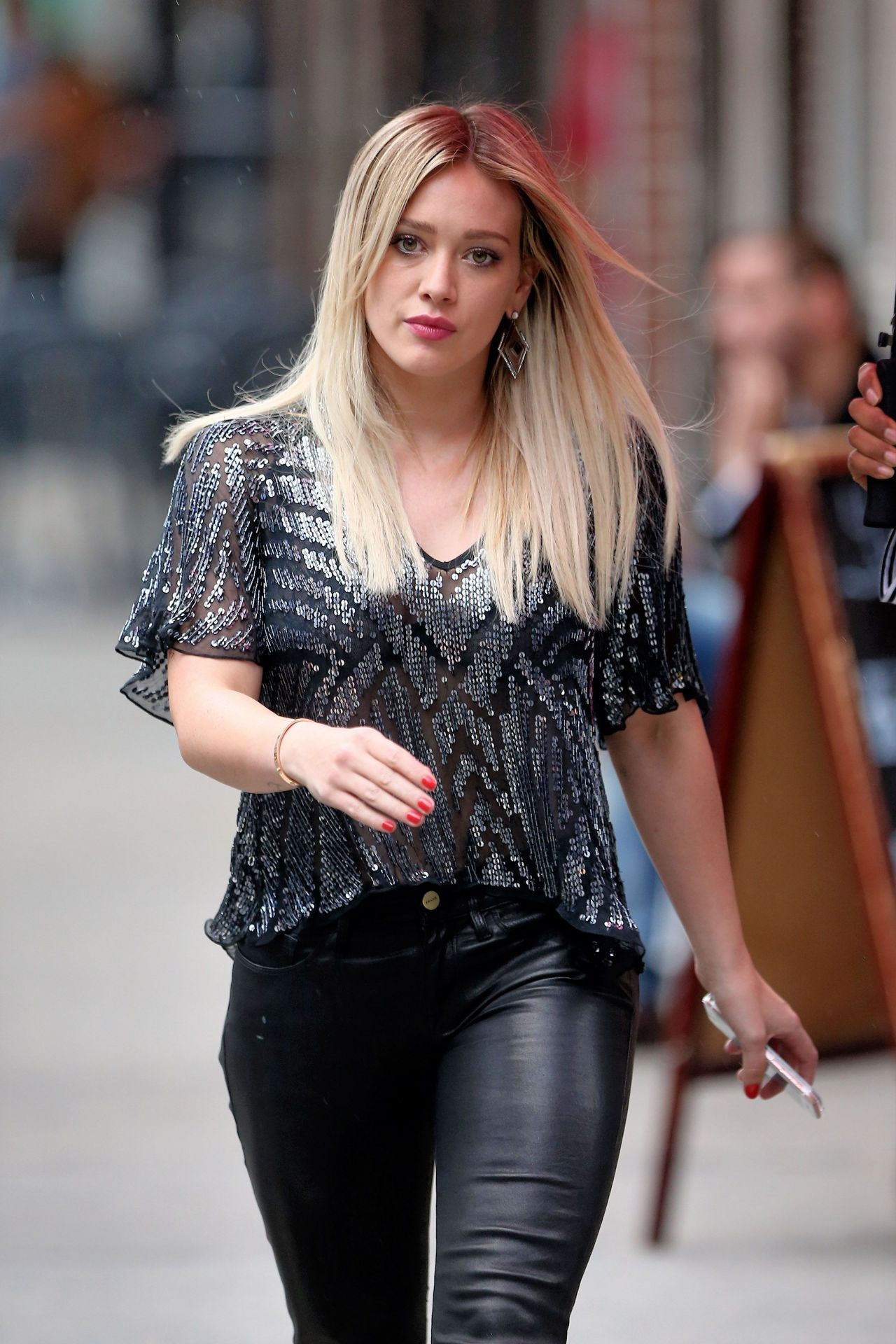 Hilary Duff – 'Younger' Set Photos – New York City, November ...