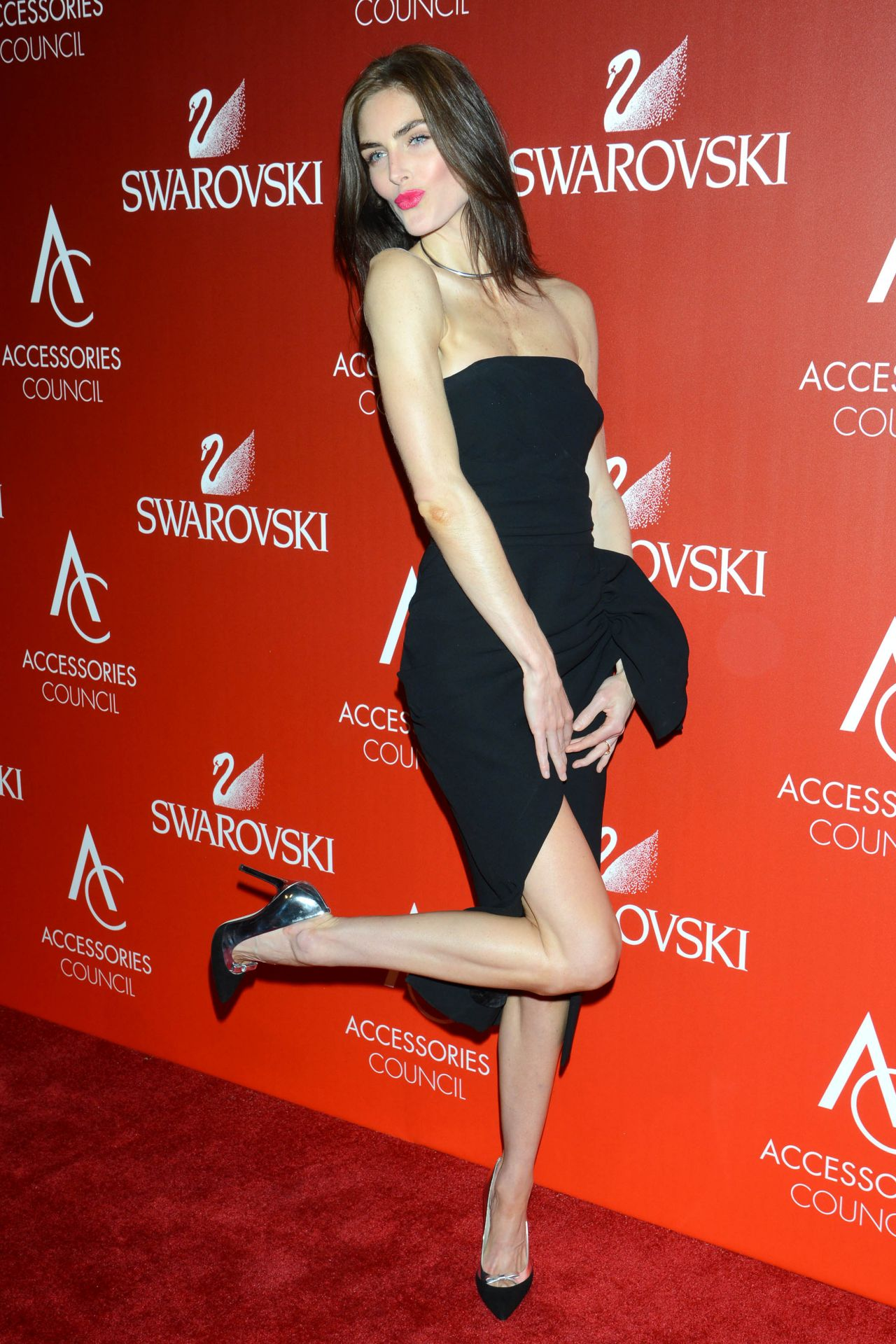 Hilary Rhoda Accessories Council 2015 Ace Awards In New York City