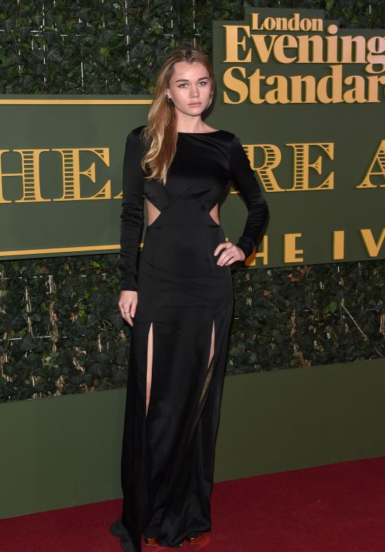 Immy Waterhouse – The Evening Standard Theatre Awards in London, November 2015