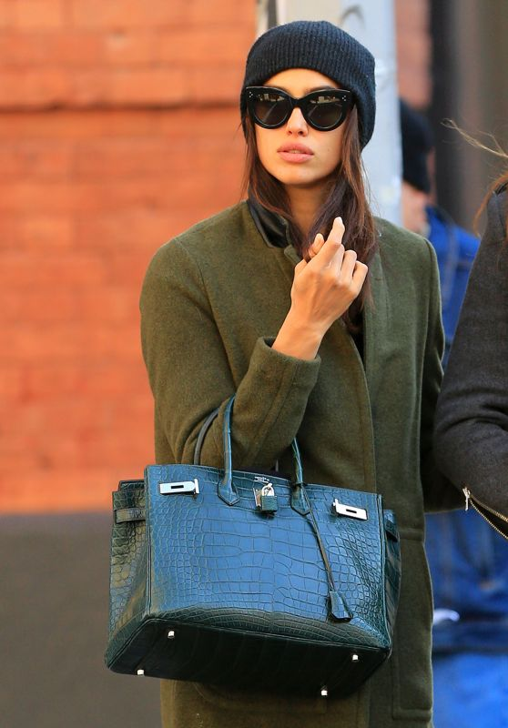 Irina Shayk Autumn Style - Soho, NYC, November 2015