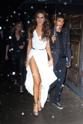 Izabel Goulart – Arrives at Tao for Victoria's Secret Fashion Show After Party in NYC