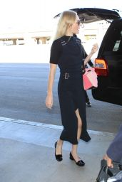 Jaime King - LAX Airport in Los Angeles, October 2015