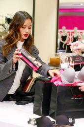 Jamie Chung - Shopping at Macy