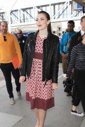 Jamie King at LAX Airport, November 2015