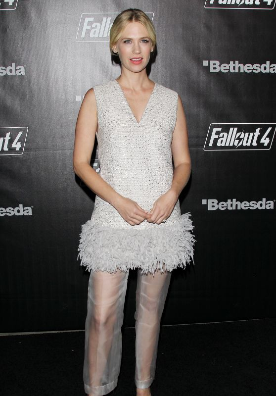 January Jones - Fallout 4 Video Game Launch Event in Los Angeles