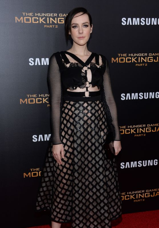 Jena Malone – 'The Hunger Games: Mockingjay, Part 2' Screening in New York