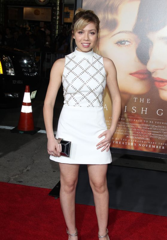 Jennette McCurdy - The Danish Girl Premiere in Westwood, November 2015