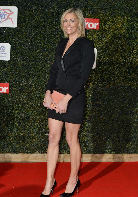 Jenni Falconer – Daily Mirror Pride of Sport Awards 2015 in London