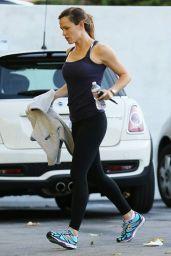 Jennifer Garner - Leaving the Gym in Los Angeles, November 2015