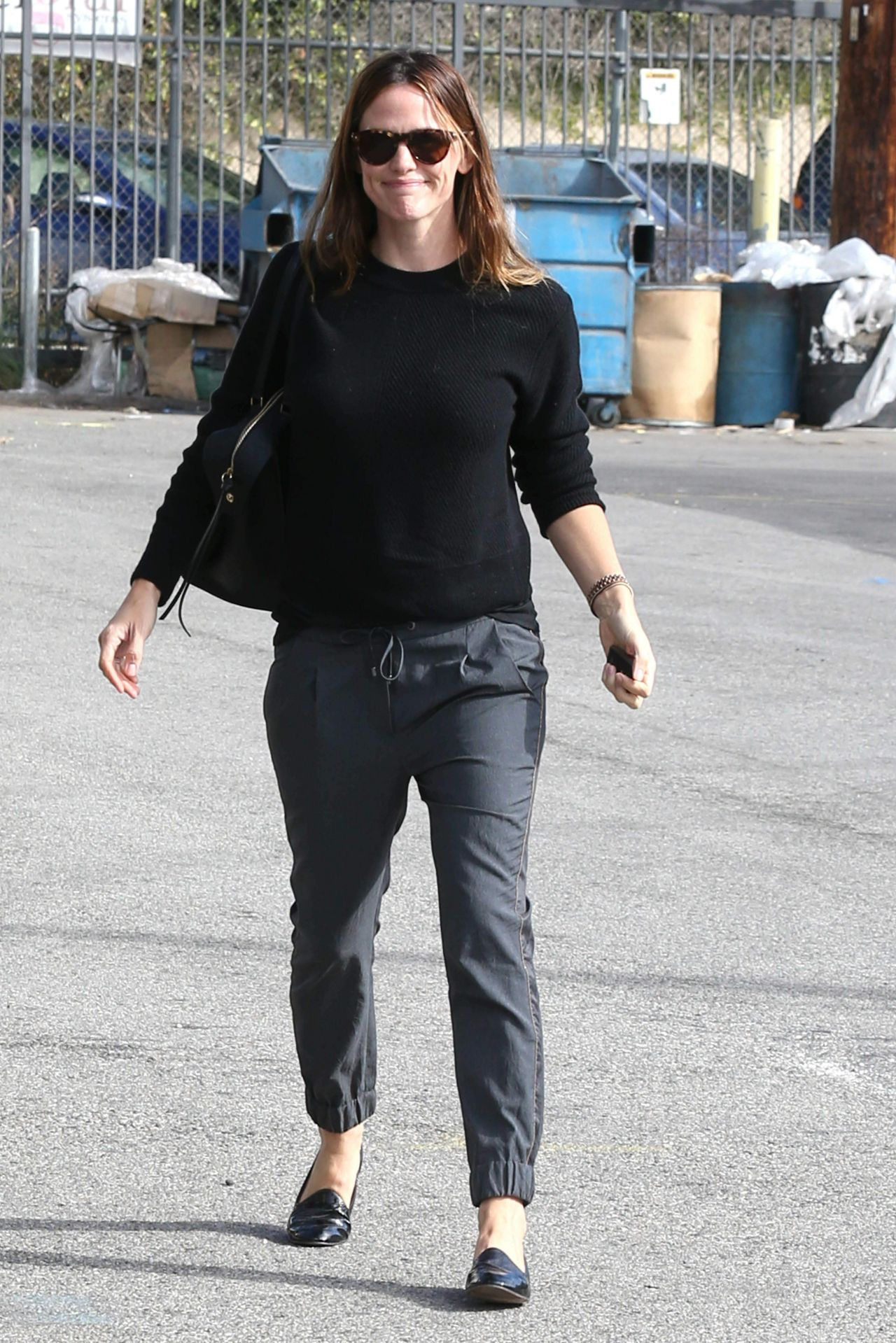 Jennifer Garner - Stops by a Casting Office For a New Project Called Wakefield, Los Angeles, November 2015
