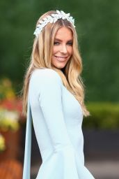 Jennifer Hawkins - Oaks Day at Flemington Racecourse in Melbourne, November 2015