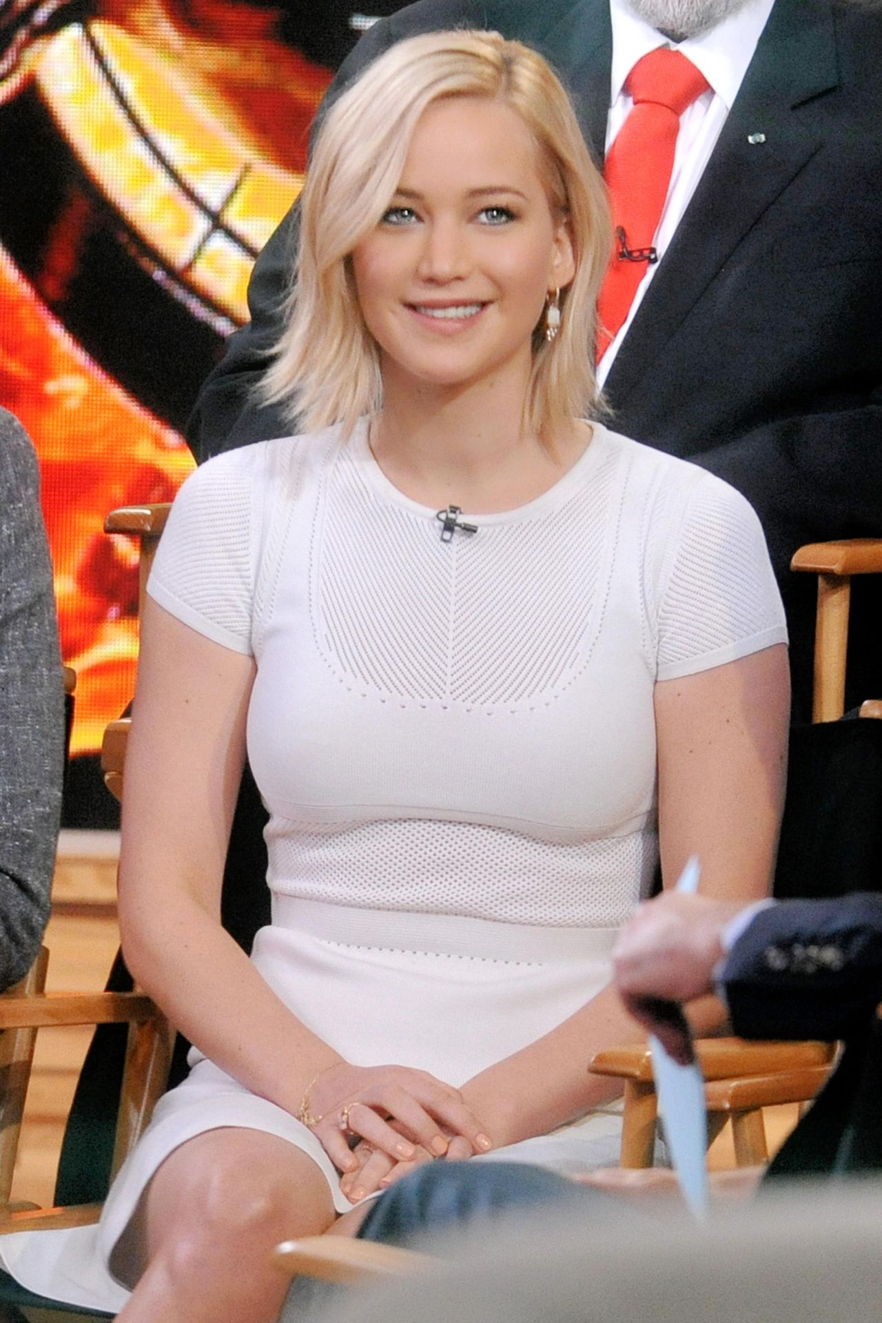 Jennifer Lawrence At Good Morning America In Nyc 11 18 2015