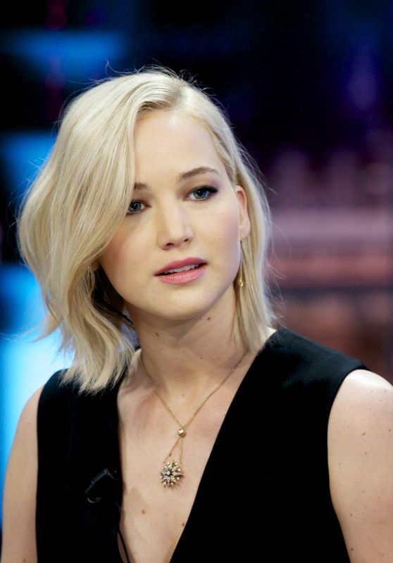 Jennifer Lawrence - 'El Hormiguero' TV Show in Madrid, 11/26/2015